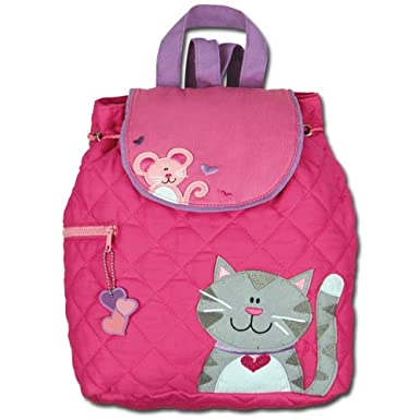 Stephen Joseph Girls Cat Quilted Backpack