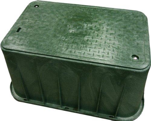 27x40x18 Extra Large Sprinkler Valve Box Green Lawn