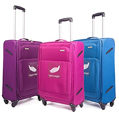"29""/ 75cm 4 Wheel Super Lightweight World lightest Suitcase Trolley Cases Bag Luggage"