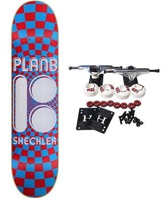 PLAN B Complete Pro Skateboard RYAN SHECKLER OPTICAL 7.62