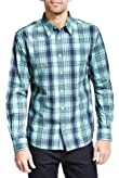 Pure Cotton Checked Shirt [T25-3142M-S]