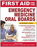 img - for First Aid for the Emergency Medicine Oral Boards (FIRST AID Specialty Boards) book / textbook / text book