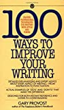 img - for Provost Gary : 100 Ways to Improve Your Writing (Mentor Series) by Gary Provost (1-Aug-1987) Mass Market Paperback book / textbook / text book