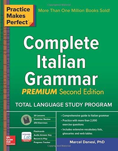Complete Italian Grammar, Premium Second Edition