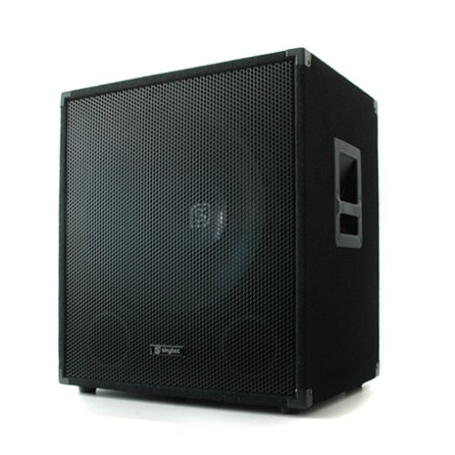 Skytec-Professionelle-Bassbox-300-W-38cm-Subwoofer-Tiefpass-Filter