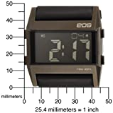 EOS New York Unisex 260SBLK Nocturne Tre Large Digital Display Black Watch