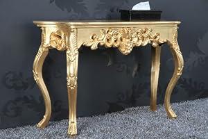 Casa Padrino Konsolentisch Gold  Barock Konsole Möbel  Kundenbewertung und weitere Informationen