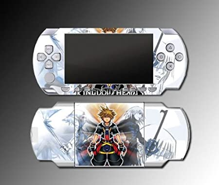 Kingdom Hearts Sora Mickey RPG 2 Game Vinyl Decal Skin Protector Cover Kit 7 for Sony PSP 1000 Playstation Portable
