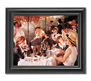 Renoir Luncheon Of The Boating Party Wall Picture Framed Art Print