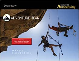 Adventure Gear Manual Simulation For Gilbertson/Lehman/Passalacqua's Century 21 Accounting: Advanced