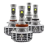 【AXZES】車検対応・安定性・信頼性が抜群! 1年安心保障サービス! 3000K/4300K/6000K/8000K/10000K光色変更可能設計! 2015最新開発 光色変更可一体化LEDヘッドライト/フォグランプ兼用! H8/H11/H16 AXLE600-H8