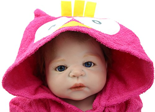 NPK 23 Inch Reborn Babies Realistic Full Bodied Silicone Collectible Vinyl Baby Girl Dolls for Sale Free Magnet Pacifier Dummy