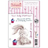 Crafter's Companion Bebunni EZMount Cling Stamp Set, 5.5 by 8.5-Inch, Truly Scrumptious