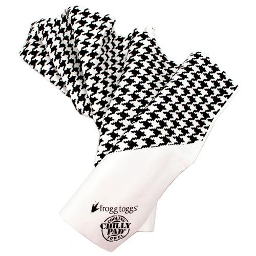 Frogg Toggs Frogg-Edelic Patterned Chilly Pads White/Black Houndstooth White|Black Houndstooth