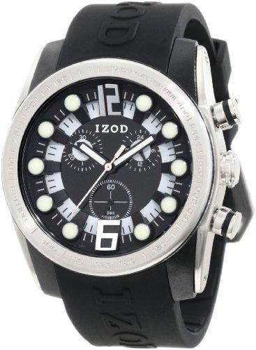IZOD Men's IZS2/1 BLK Sport Quartz Chronograph Watch