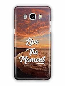 YuBingo Live the Moment Designer Mobile Case Back Cover for Samsung Galaxy J5 2016