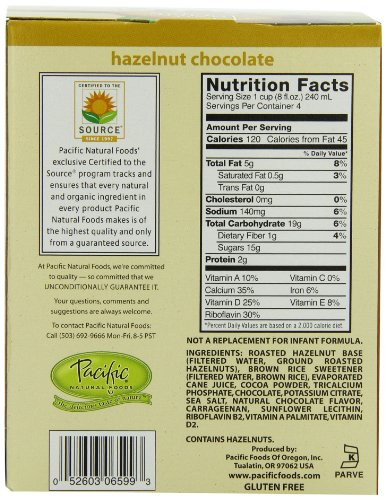 Pacific Natural Foods Hazelnut
