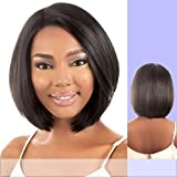 LDP-FINE (Motown Tress) - Heat Resistant Fiber Lace Front Wig in DX1BTRED