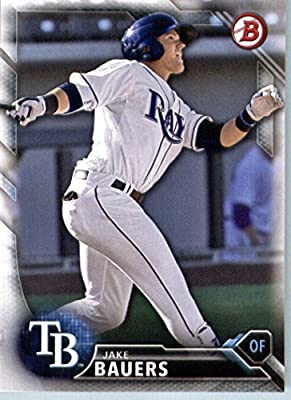 2016 Bowman Prospects #BP131 Jake Bauers Tampa Bay Rays Baseball Card