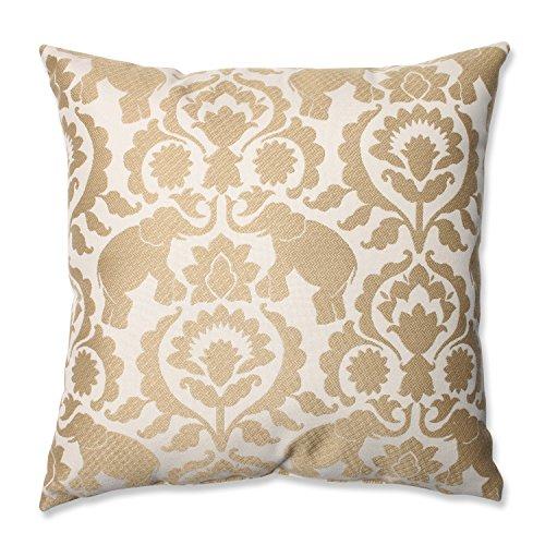 "18"" Babar Elegance Golden Sands Decorative Throw Pillow"