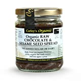 Carley's Organic Raw Chocolate and Sesame Seed Spread 250g