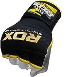 RDZG3081 RDX インナーグローブ ボクシング MMA 各色/サイズ (黒, S)