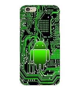 ColourCraft Cartoon Design Back Case Cover for APPLE IPHONE 6 PLUS