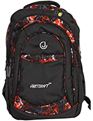 Justcraft Classic Black And Red Backpack