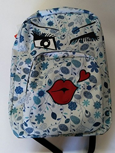 66409b47a9 ZAINO INVICTA - OLLIE PACK FACE - Blue fantasia kiss - tasca porta pc padded  -
