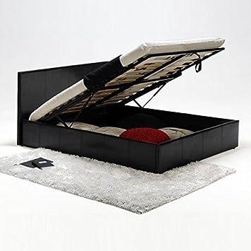 mymeubledeco lit lit coffre simili sommier lattes conforta conforta 140x190 cm en. Black Bedroom Furniture Sets. Home Design Ideas