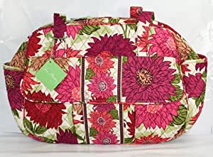 vera bradley baby bag hellow dahlia diaper tote bags baby. Black Bedroom Furniture Sets. Home Design Ideas