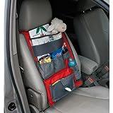 Baby to Love 101972 - Bolsa con compartimentos para el coche, color rojo/gris