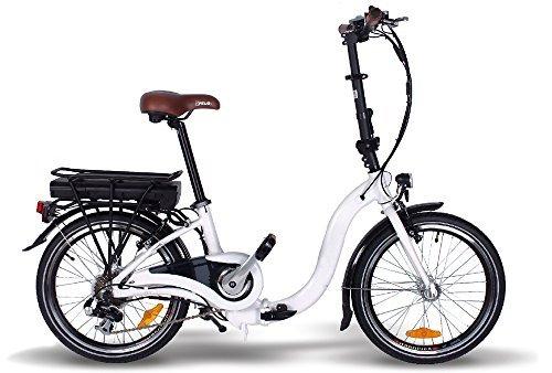 20″ Elektro Klappfahrrad E-GO! QUICKLINE 250W E-Bike City Bike Klapprad Nice