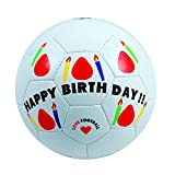スフィーダ(SFIDA) Happy Birthday Ball BSF-HB01 White フットサル4号