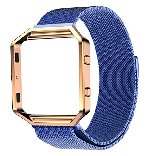 jacky-milanese-magnetic-stainless-steel-watch-band-metal-frame-for-fitbit-blaze-blue