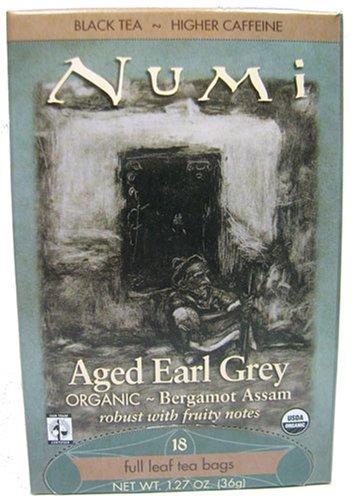 Numi Aged Earl Grey Organic Bergamot Assam 18 Bags