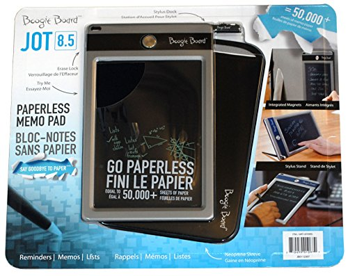 "Boogie Board Jot 8.5"" Lcd Ewriter - Electronic Notepad (Black Accent)"