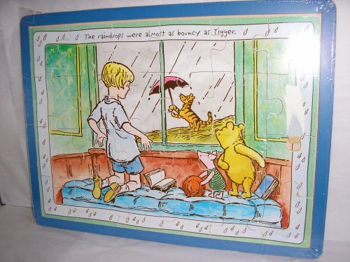 Cheap Classic Pooh Winnie the Pooh Puzzle, The Raindrops Were Almost As Bouncy As Tigger. 24 Piece (B000Y8AHL0)