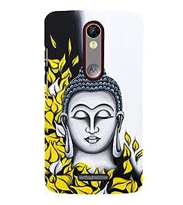 Prasanna Buddha Cute Fashion 3D Hard Polycarbonate Designer Back Case Cover for Motorola Moto X Play