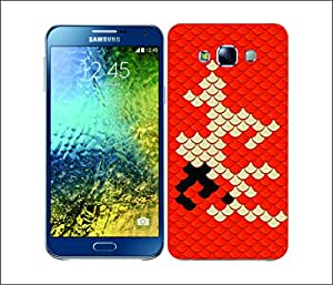 Galaxy Printed 2731 Scales Tangy Hard Cover for Samsung S3