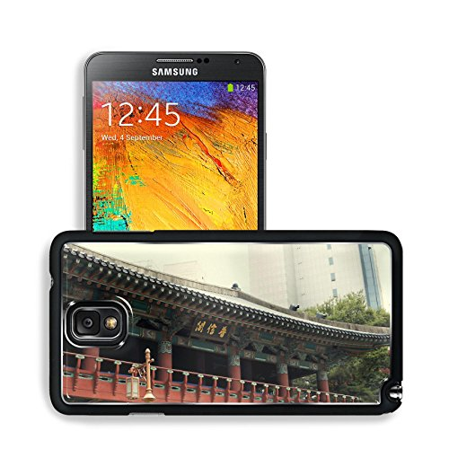 Asian Architecture Seoul South Korea Samsung Note 3 N9000 Snap Cover Premium Aluminium Design Back Plate Case Open Ports Customized Made To Order Support Ready 5 14/16 Inch (150Mm) X 3 2/16 Inch (80Mm) X 11/16 Inch (17Mm) Msd N3 Note 3 Professional Cases front-966447