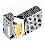 たばこケース シガレットケース 軽量 パンチング アルミケース【GreeParty】 (シルバー) ランキングお取り寄せ