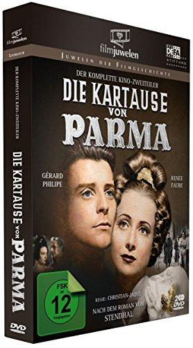 Die Kartause von Parma - Der komplette Kino-Zweiteiler mit Gérard Philipe (Filmjuwelen) [2 DVDs]