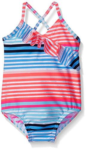 Osh Kosh Baby Foil Print Stripe One Piece Swimsuit, Multi, 18 Months
