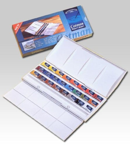 Winsor Newton Cotman 45 Half Pan Watercolour Set