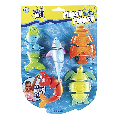 Toysmith Flipsy Flopsy Dive Toy Set