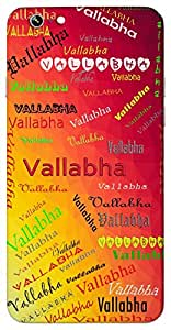 Vallabha (Popular Girl Name) Name & Sign Printed All over customize & Personalized!! Protective back cover for your Smart Phone : Apple iPhone 7