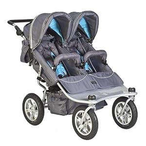 Valco Baby Tri Mode EX Twin Stroller - Arctic