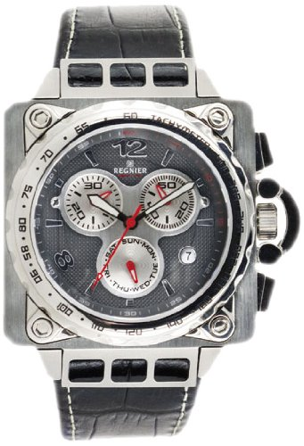 Régnier Zéphir R1302 Men's Chronograph Stainless Steel Strap Watch 2040732