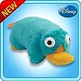 Pillow Pets Authentic Disney 18 Perry, Folding Plush Pillow- Large